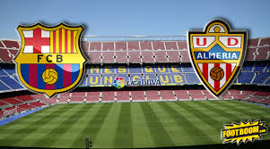 Ставки, прогноз на матч «Барселона — Альмерия» (08.04.2015, 21:00)