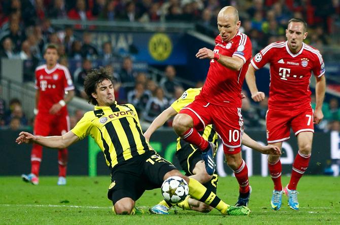 Бавария — Боруссия Дортмунд: центральный матч 28-го тура